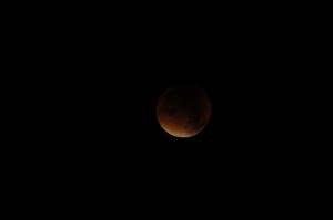 Verduisterde maan (Henk Wagenaar)