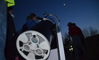 Eén van de grotere amateur telescopen