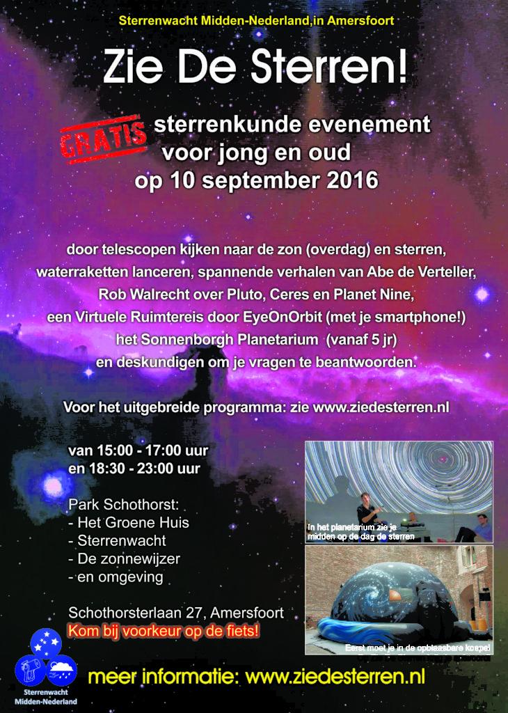 Zie de Sterren - 2016 (A4)