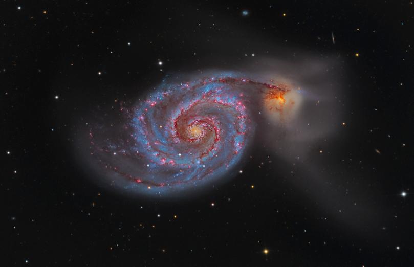 M51: Draaikolk nevel